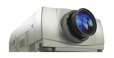 image of a video projector