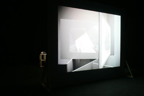 'A Sculpture Turning into a Conversation' installed at Picture This, 2011