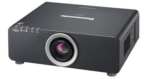 product shot of a video projector